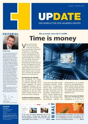 Ausgabe 12/2009 - HAUBNER IT GmbH