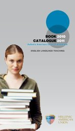 Book Catalogue 2010 2011 - Hellenic American Union