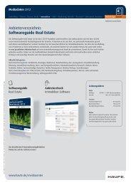 Softwareguide Real Estate - Mediadaten Haufe Lexware