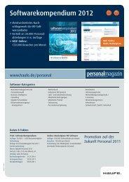 Softwarekompendium 2012 - Mediadaten Haufe Lexware