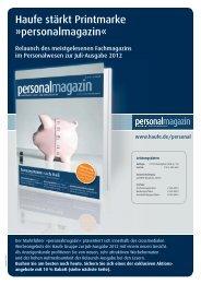 personalmagazin - Mediadaten Haufe Lexware