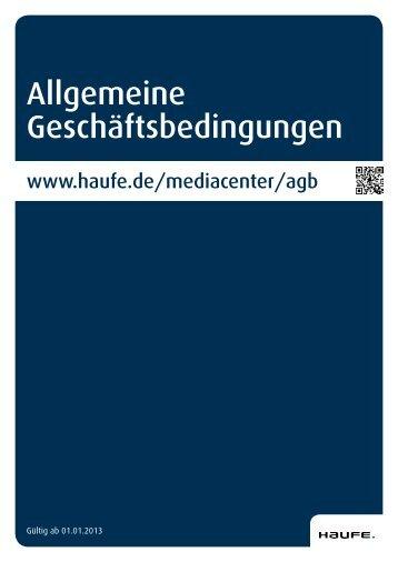 Download AGB [PDF, 147 KB] - Mediadaten Haufe Lexware