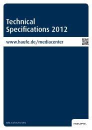 Technical Specifications 2012 - Mediadaten Haufe Lexware