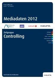 Mediadaten 2012 Controlling - Mediadaten Haufe Lexware