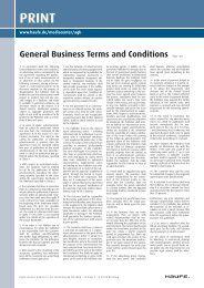 General Business Terms and Conditions Page 1 ... - Haufe Fachmedia