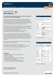 AnbieterCheck ERP-Software - Mediadaten Haufe Lexware