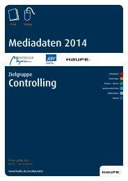 Media Kit Controlling 2014 - Mediadaten Haufe Lexware