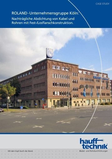 Projektbeschreibung (PDF) - Hauff-Technik