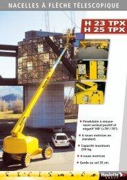 Brochure - Haulotte