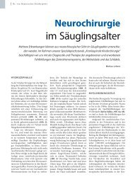 im Säuglingsalter - Hauner Journal