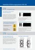 Preisliste 2012. Kabeldurchführungen. - hauff technik - Page 6