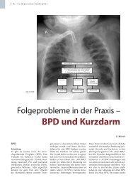 BPD und Kurzdarm - Hauner Journal