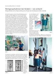 Röntgenaufnahmen bei Kindern – wie einfach! - Hauner Journal