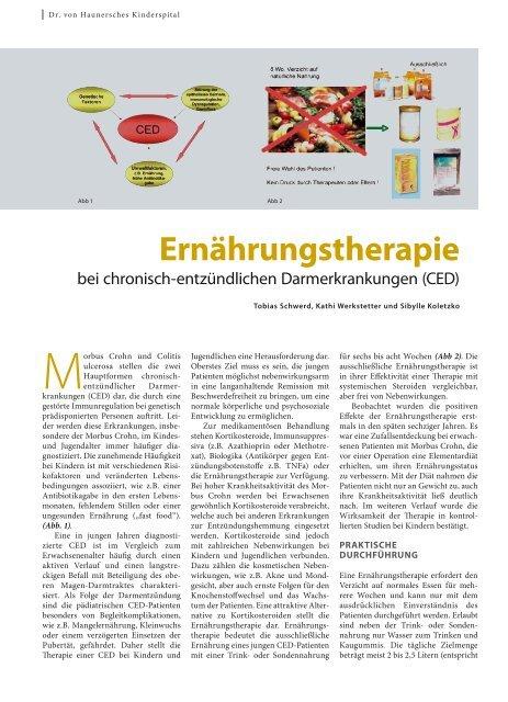 Ernährungstherapie - Hauner Journal