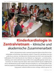 Kinderkardiologie in - Hauner Journal