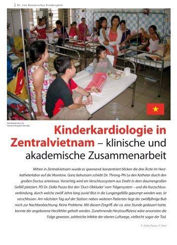 Kinderkardiologie in - Hauner Journal