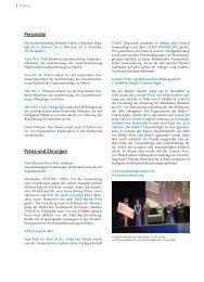 Personalia Preise und ehrungen - Hauner Journal
