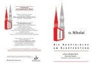 Johann Sebastian Bach: Johannes-Passion - Hauptkirche St. Nikolai