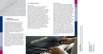 Institut für Musik - Hauptsache Musik