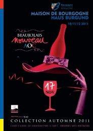 maison de bourgogne haus burgund 10/11/12 2011