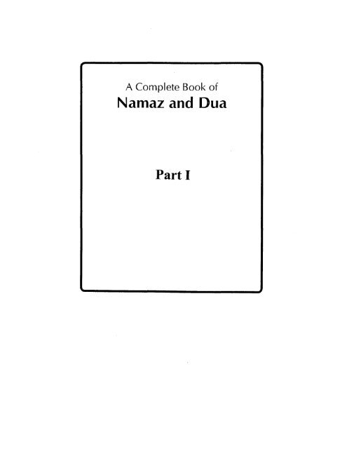 Dawoodi Bohra Namaz Dua Epub Download