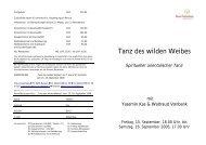 Tanz des wilden Weibes_Sept.06 - Haus Gutenberg - Bildungs