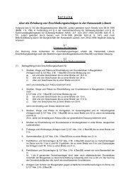 Satzung über die Erhebung von Erschließungsbeiträgen - Haus
