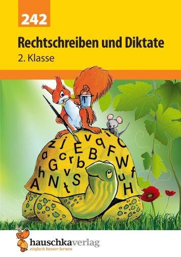 Musteraufgaben und Inhaltsverzeichnis als PDF - Hauschka Verlag