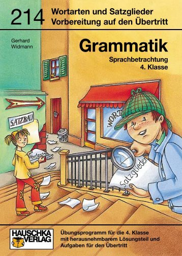 Grammatik - Hauschka Verlag
