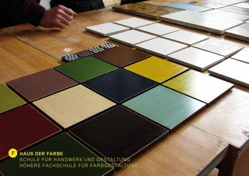 Infoabende 2013 (PDF) - Haus der Farbe