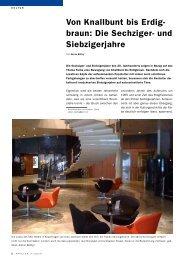 Die Sechziger- und Siebzigerjahre, Applica 3/2010 ... - Haus der Farbe
