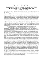 Rundbrief Gräbe´s Nr. 4 – Juni 1998 - Haus der Hoffnung