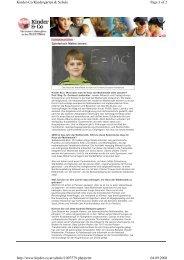 Kinder & Co - Interview - Haus der Mathematik