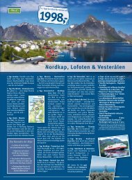 Nordkap, Lofoten & Vesterålen - HAUSER