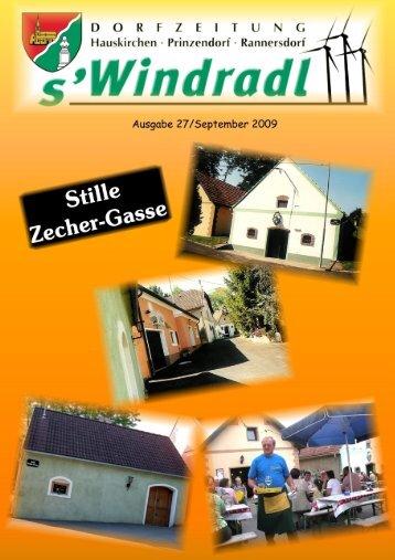 s`Windradl - Ausgabe 27/September 2009 (11,67 MB) - Gemeinde ...