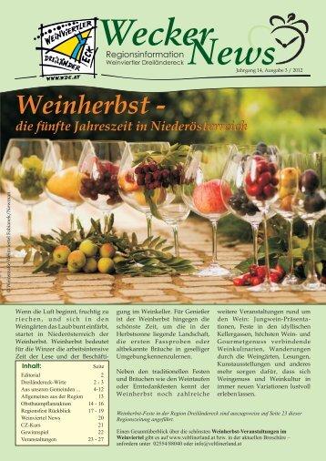 Wecker News Ausgabe 3/2012 (5,77 MB) - Gemeinde Hauskirchen