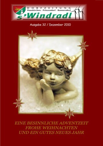 s`Windradl Dezember 2010 (8,02 MB) - Gemeinde Hauskirchen