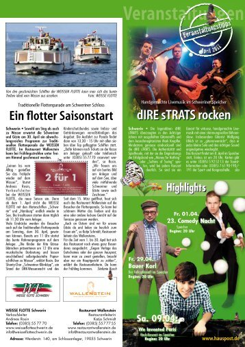 dIRE sTRATS rocken - Hauspost