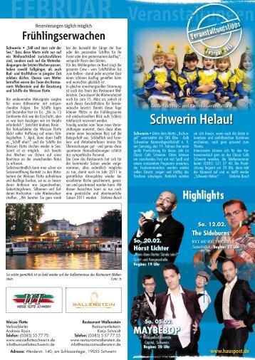 Schwerin Helau! - Hauspost
