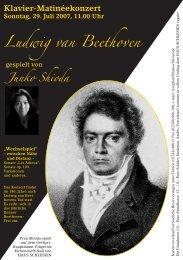 Ludwig van Beethoven Junko Shioda - Haus Schlesien