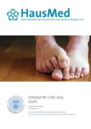 Infozept Nr. I-GIC-005: Gicht - HausMed
