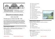 Druckgraphiken - Haus Schlesien