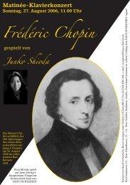 Frédéric Chopin - Haus Schlesien