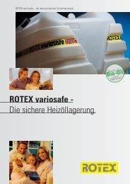 ROTEX variosafe - Die sichere Heizöllagerung. - Titan Heating