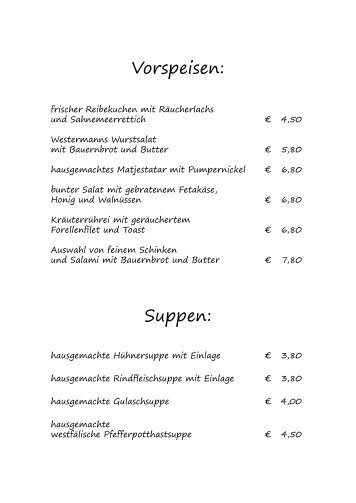 """Standardangebot - Hotel """"Haus Westermann"""""""
