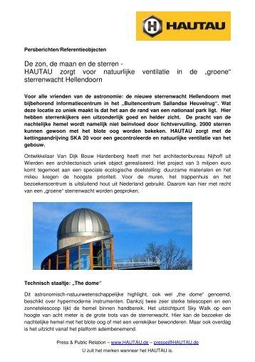 sterrenwacht Hellendoorn - Hautau