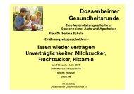 Dossenheimer Gesundheitsrunde - Dr. med. M. Jansen: Hautarzt in ...