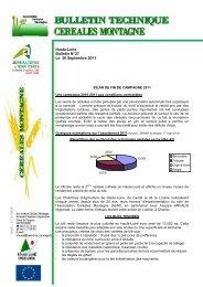 Bulletin N°27 Septembre 2011 - Chambre d'Agriculture de la Haute ...