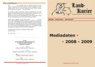 Mediadaten . . 2008 - 2009 - Havel-Edition