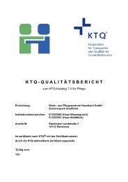 Seniorenpark Stadtforst - Havelland Kliniken Unternehmensgruppe